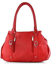 UNIQUE Women's Messenger Shoulder Bag Handbag Red