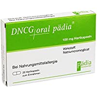 Preisvergleich für DNCG oral Pädia Hartkapseln 20 St Hartkapseln