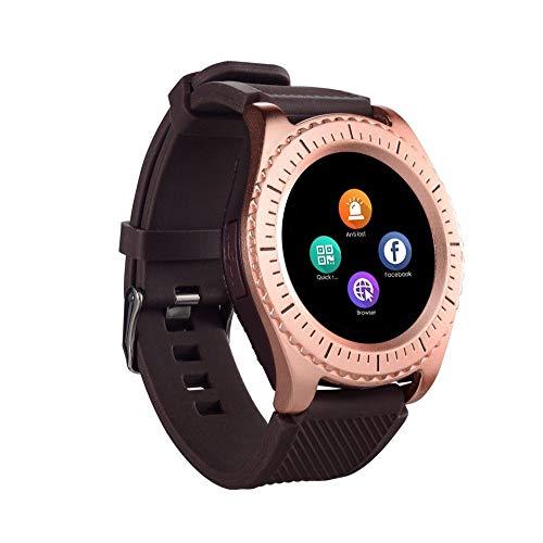 Jiameng smartwatches - nuovo z3 bluetooth3.0 smart watch supporto sim e fotocamera tfcard per telefono android sport orologio intelligente può essere inserito nella carta per chiamare l'oro rosa