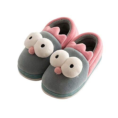Kawaii Slipper Stiefel Jungen Mädchen Fuzzy Samt Gedächtnisschaum Innen Haus Ankle Booties Kleinkind ()