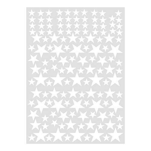 Fdit Etiqueta de Pared de PVC Extraíble Pegatina de Pared de Estrellas DIY Etiqueta de Pared de Arte...