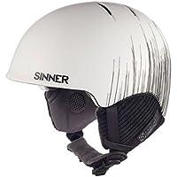 Sinner Lost Trail - Casco de esquí, color blanco mate, talla XL