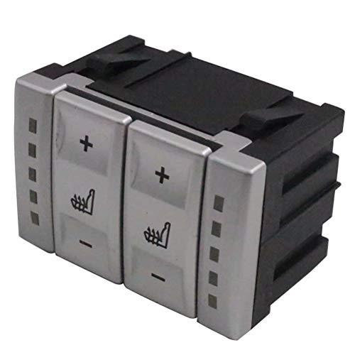 Silber farbe elektrisch beheizt schalter heizung schalter 6m2t-19k314-ac 6m2t19k314ac für mondeo mk3 mk4 s-max