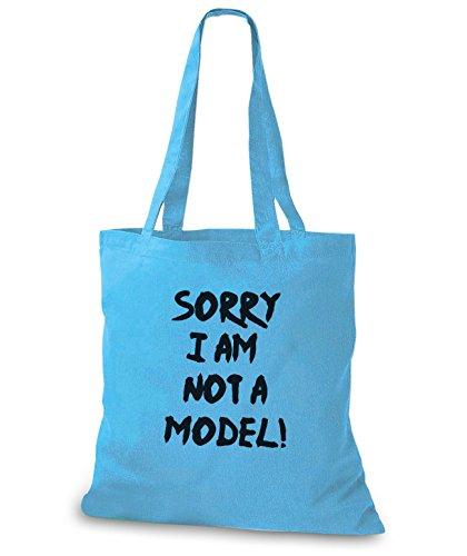Stylobags Jutebeutel / Tasche Scusa Non Sono Una Modella! Cielo
