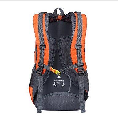 40 L Rucksack Camping & Wandern Draußen Wasserdicht Grün Rot Schwarz Orange Oxford Others light sky blue