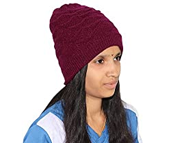 Goodluck Womens Winter Wollen Cap