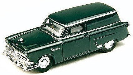 HO 1953 Ford Courier Sedan Delivery, Dark Green by Classic Metal Works