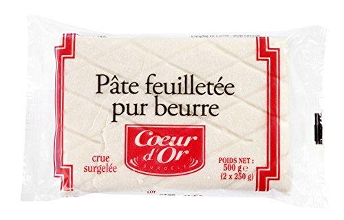 Blocs de pâte feuilletée - 2 x 250 g - Surgelé
