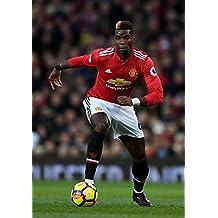 Desconocido Paul Pogba Manchester United Football Póster 10175 (A3-A4-A5),