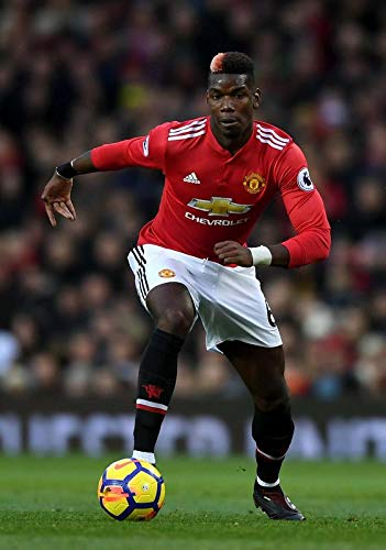 Sconosciuto Paul Pogba Manchester United Football Poster 10175 (a3-a4-a5), A5