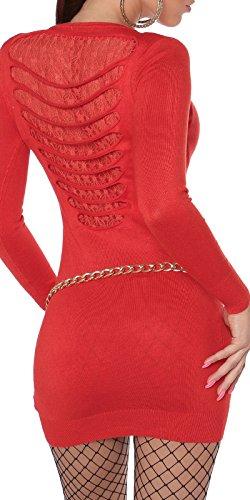 jowiha - Robe - Moulante - Femme Rouge