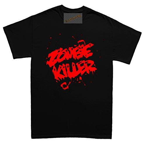 Renowned Zombie Killer Herren T Shirt Schwarz