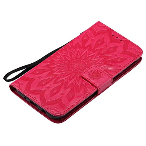 Case iPhone 7 Plus,iPhone 7 Plus Cover,Bonice Premium Pelle Magnetico Staccabile Folio Zipper Portafoglio Protettivo Case Multiplo Card Slots Extra Wallet Conservazione per iPhone 7 Plus + Pennino Cro Model 06