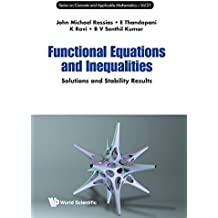 FUNCTIONAL EQUATIONS & INEQUAL (Series on Concrete and Applicable Mathematics)