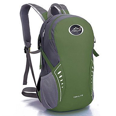 14 L Rucksack Camping & Wandern Reisen tragbar Atmungsaktiv Feuchtigkeitsundurchlässig Green