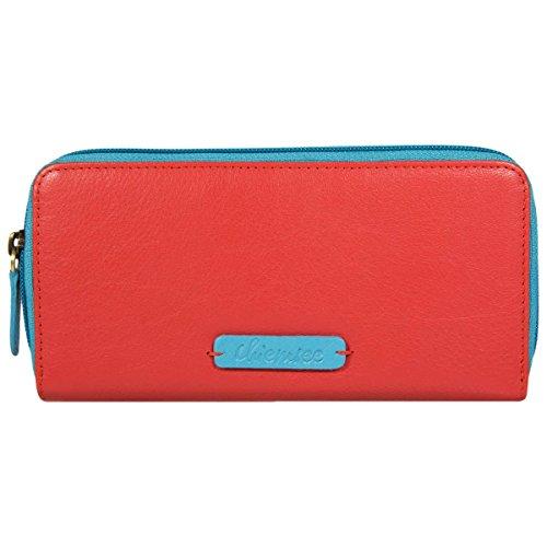 Chiemsee Leo portafoglio pelle 19 cm lila red