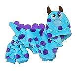 Fossrn Mascota Ropa de Invierno Perro Disfraz Dinosaurio Cachorro Gato Chaleco Camiseta Abrigo Vestido Suéter