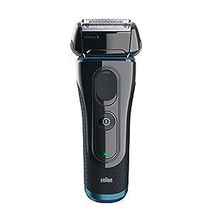 Braun Series 5 Elektrischer Rasierer 5040S, schwarz/blau