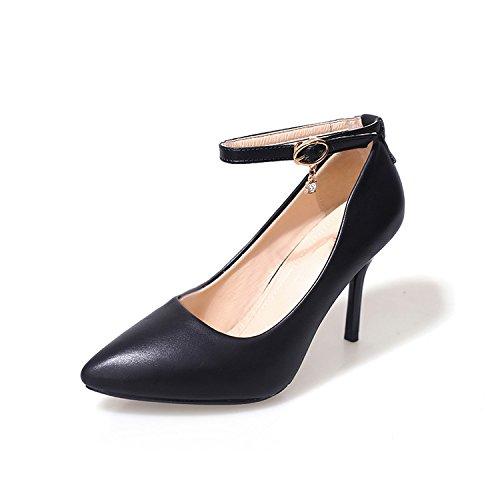 Buckle Bien Avec Chaussures Code Interview Chaussures SHOESHAOGE Grand Professionnelles Pour unie Un Printemps Chaussures Couleur Mot Femmes Automne IwXgHqxg7