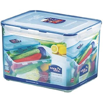 Buy LockLock Rectangular Food Container with Tray 10 Litres Online