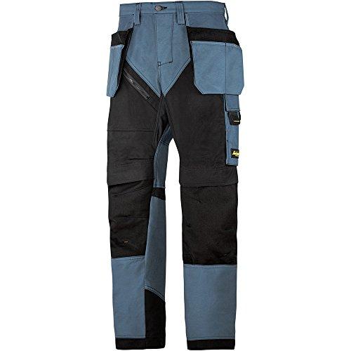 Preisvergleich Produktbild Snickers Workwear RuffWork Arbeitshose mit HP, 62035104056, 56, petrolschwarz