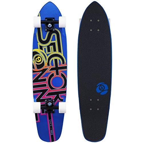 FIREBALL Sector 9 The Wedge Skateboard, Blau