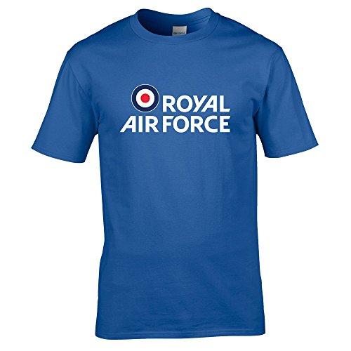 Royal Air Force Herren T-Shirt Gr. Large, königsblau