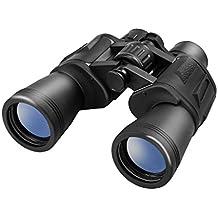 LESHP Jumelles 10 X 50 Puissant Réglable Imperméable Longue Vue Jour Nuit Télescope Binoculaire Pliable Léger Film Vert Lentille 50MM Zoom Optique 10x Comport pour Randonnée Chasse Théâtre etc.