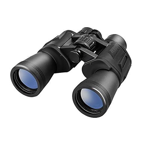 LESHP 10x50 FMC jumelles optique télescope zoom vision idéal pour l'observation des oiseaux, le camping, la chasse, l'opéra, les concerts, les sports, le tourisme