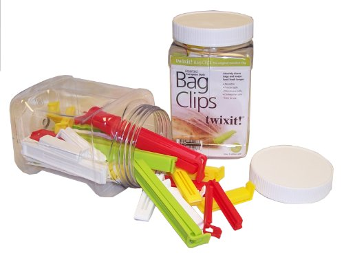 Linden Sweden Twixit Clip Bag Sealers, Set of 27 Assorted by TWIXIT CLIPS Twixit Clip