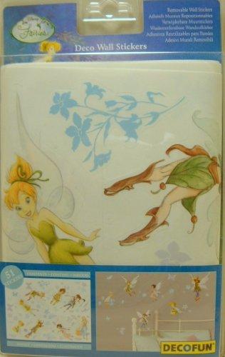 51 Stickers muraux Disney Fairies