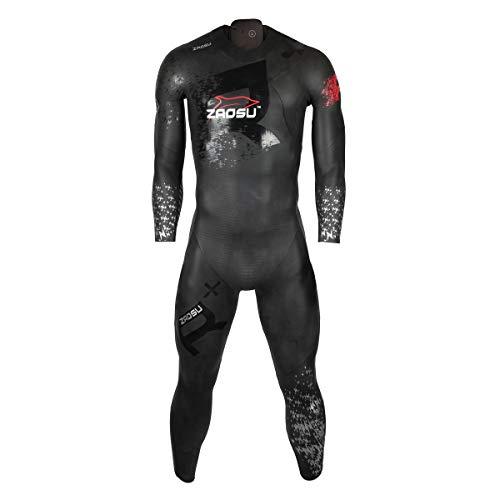ZAOSU Herren Neoprenanzug Racing + 2017 | Triathlon Wetsuit fürs Freiwasser Schwimmen und Wettkämpfe, Größe:ML