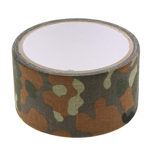 P Prettyia Tarnband Gewebeband Klebeband Camo Camouflage Tape für Kamera Objektiv - Deutsche Spot Camouflage