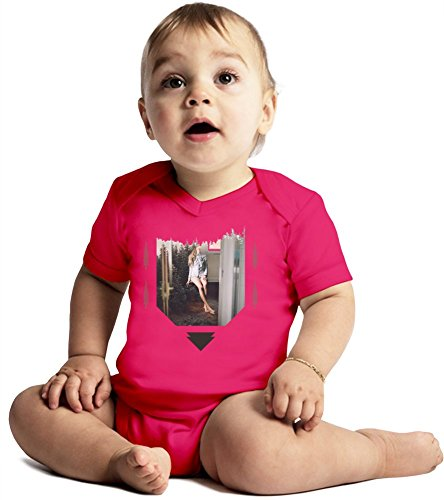 Weed Babe x Forest Collage Amazing Quality Baby Bodysuit by Benito Clothing - Made From 100% Organic Cotton- Super Soft V-Neck Style - Unisex Design- Perfect As A Present