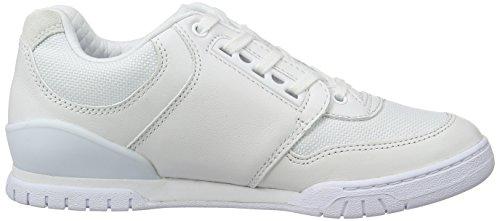 Lacoste L!VE Indiana 416 1 C, Sneakers basses femme blanc (WHT)