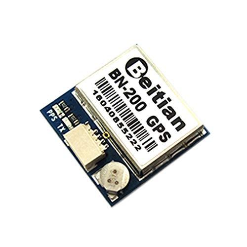 Kleine Gps-antenne (XZANTE Bn-200 Kleine Gr?sse Chipset GPS Modul Antenne GPS Glonass Dual Gnss Modul Mit 4M Flash, 20Mmx20Mmx6Mm,)