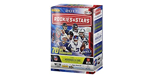 2017 NFL Football Neueinsteiger & Stars Trading Card Full Box