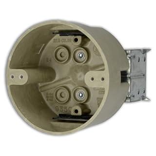 Allied Moulded H9350=HLK 4-Inch Diameter Round Fberglassbox