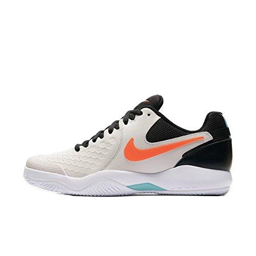 Nike Herren Tennisschuh Air Zoom Resistance, Pink (Phantom/Hyper Crimson 064), 42.5 EU