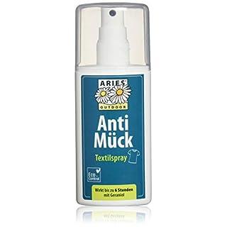 Aries Anti Mück Textilspray, Mückenschutz Spray für Kleider, 100 ml