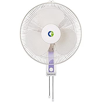 Crompton High Flo Wave Wall Mounted Fan - 400Mm - White