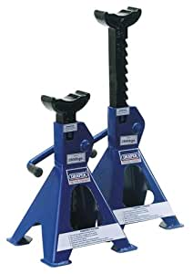 Draper 64431 2-Tonne Ratchet-Style Axle Stands (Pack of 2)