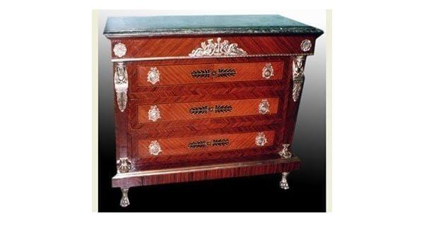 Credenza Antica Con Marmo : Louisxv barocco credenza stile antico comò buffet rococo moba