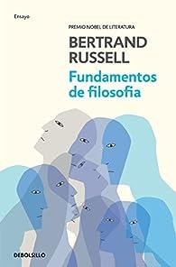 Fundamentos de filosofía par Bertrand Russell