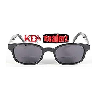 KDS Brille kd' S Sonnenbrille für presbytes–readerz Smoke Biker Korrektur + 1,50