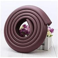 Yhcean Artículos de Uso doméstico Table Corner Edge Soft Safety Protection Cojín Protector (marrón) para casa