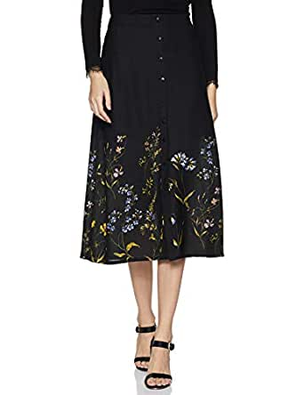 Amazon Brand - Eden & Ivy Women's A-Line Midi Skirt