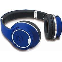 Conceptronic CHSPBTSPKBLU Diadema Binaurale Alámbrico/Inalámbrico Azul - Auriculares (Alámbrico/Inalámbrico, Diadema, Binaurale, Circumaural, 90 - 18000 Hz, Azul)