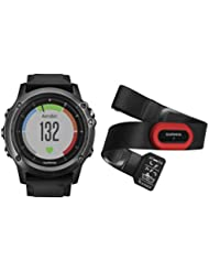 Garmin Fēnix 3 Sapphire Gray HR - Performer - HRM-Run - Montre GPS multisports Outdoor avec cardio poignet