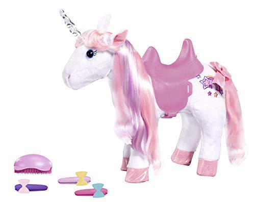Zapf Creation 828854 Baby Born Animal Friends Unicorn, bunt